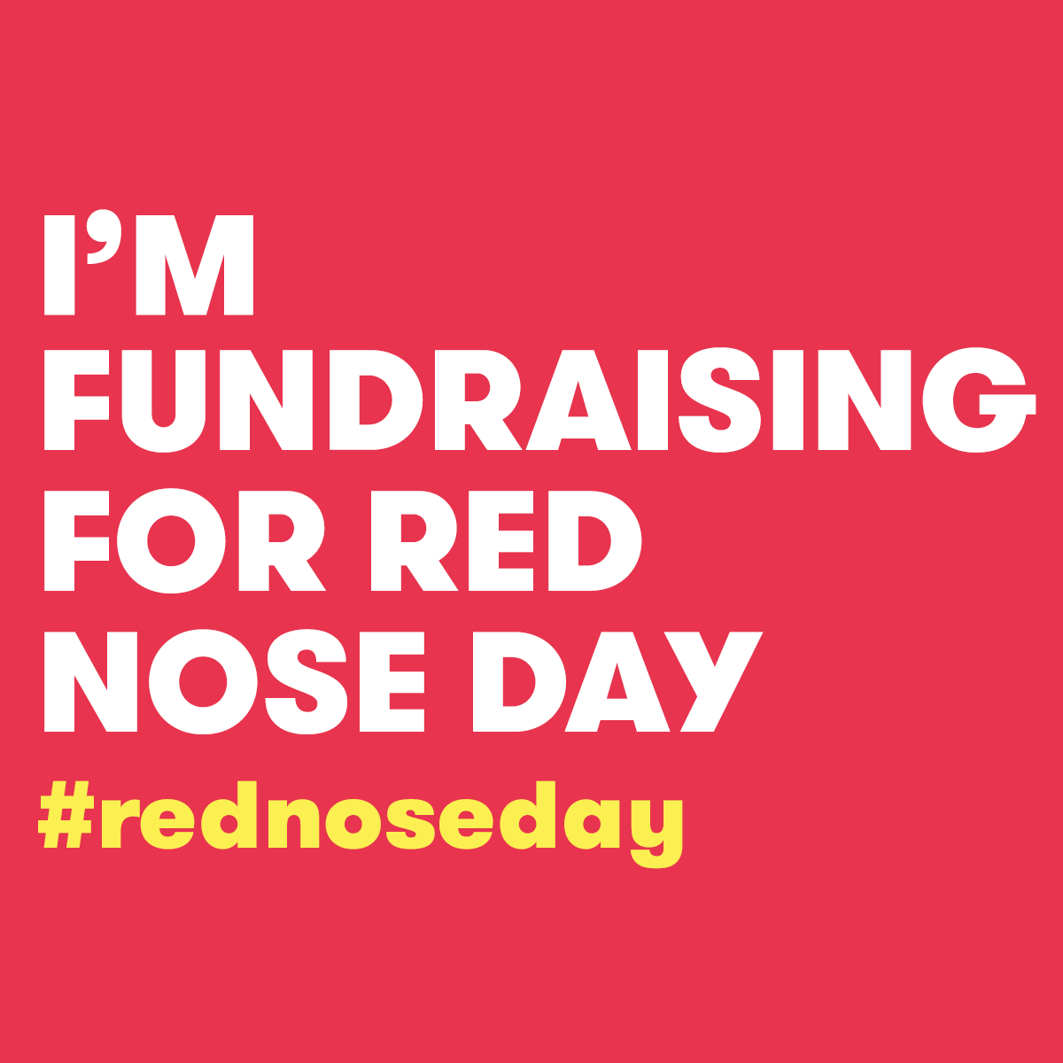 Red Nose Day Pack